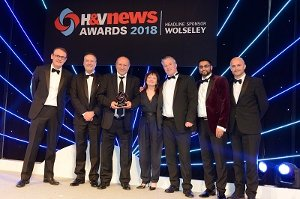 Conex Banninger H&V News Award Group Photo 2018
