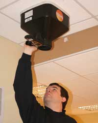 Aria Engineer taking commissioning an AC System