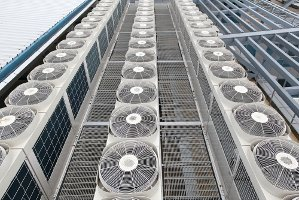 Rows of Condensers